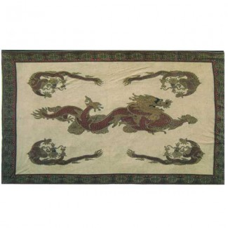 Quilt / Tapestry Dragon Family